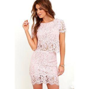 Lulu's Turn Back Time 2 piece dress